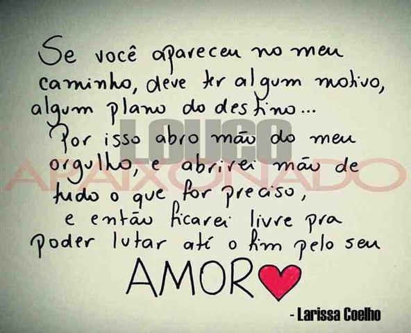 Frases Apaixonadas De Amor