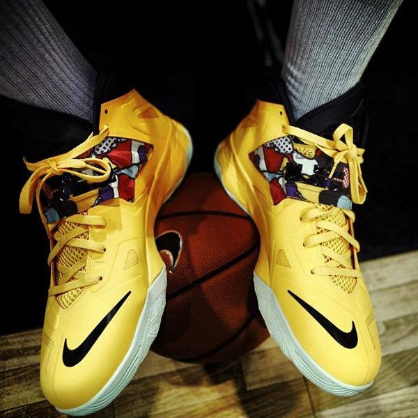 new style c6bd1 09102 ... Preview of Upcoming Nike Zoom Soldier VII (7) in Yellow   Black