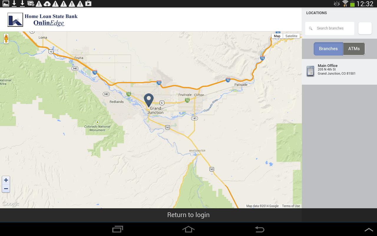 Home Loan State Bank MobilEdge- screenshot