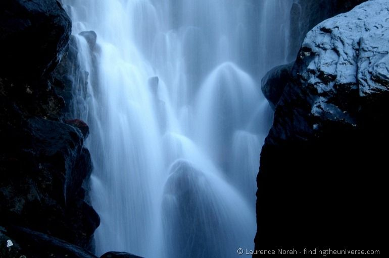 Waterfall in slow motion - Waitonga Falls close up #TravelPinspiration