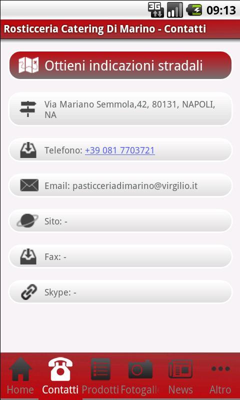Pasticceria Di Marino - screenshot