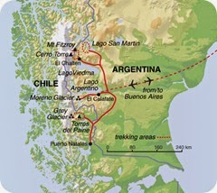 fitz roy cerro torre map