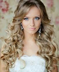 tendencia de penteados 2015 noiva de cabelo solto com baby liss