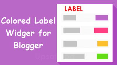 Widget Label nhiều màu sắc cho Blogspot