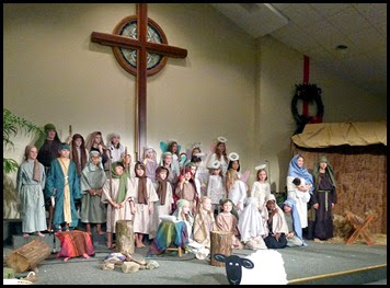 12b - Christmas Program Cast