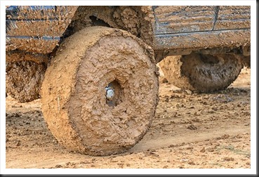 Extreme Mud on tire