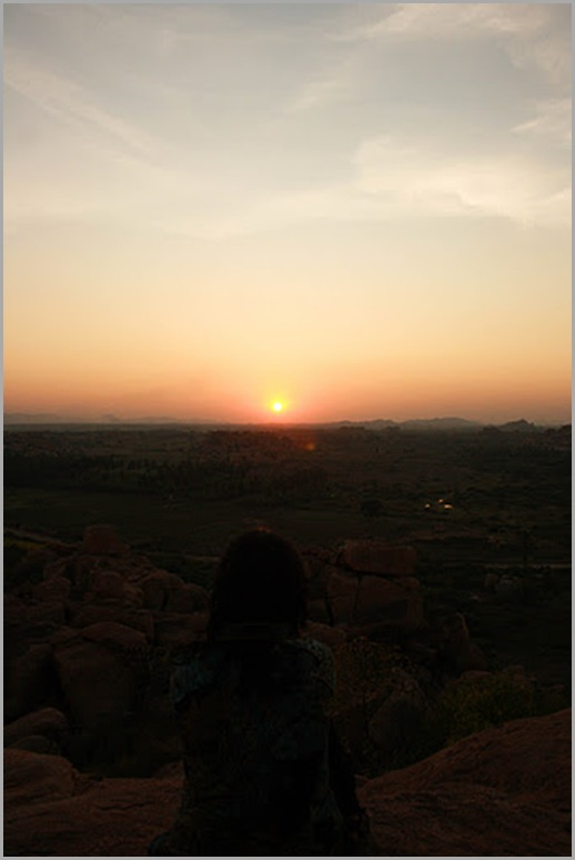 Sunset View from Malyavanta Hill