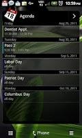 Screenshot of Flat Black HTC Sense 3.0 Skin