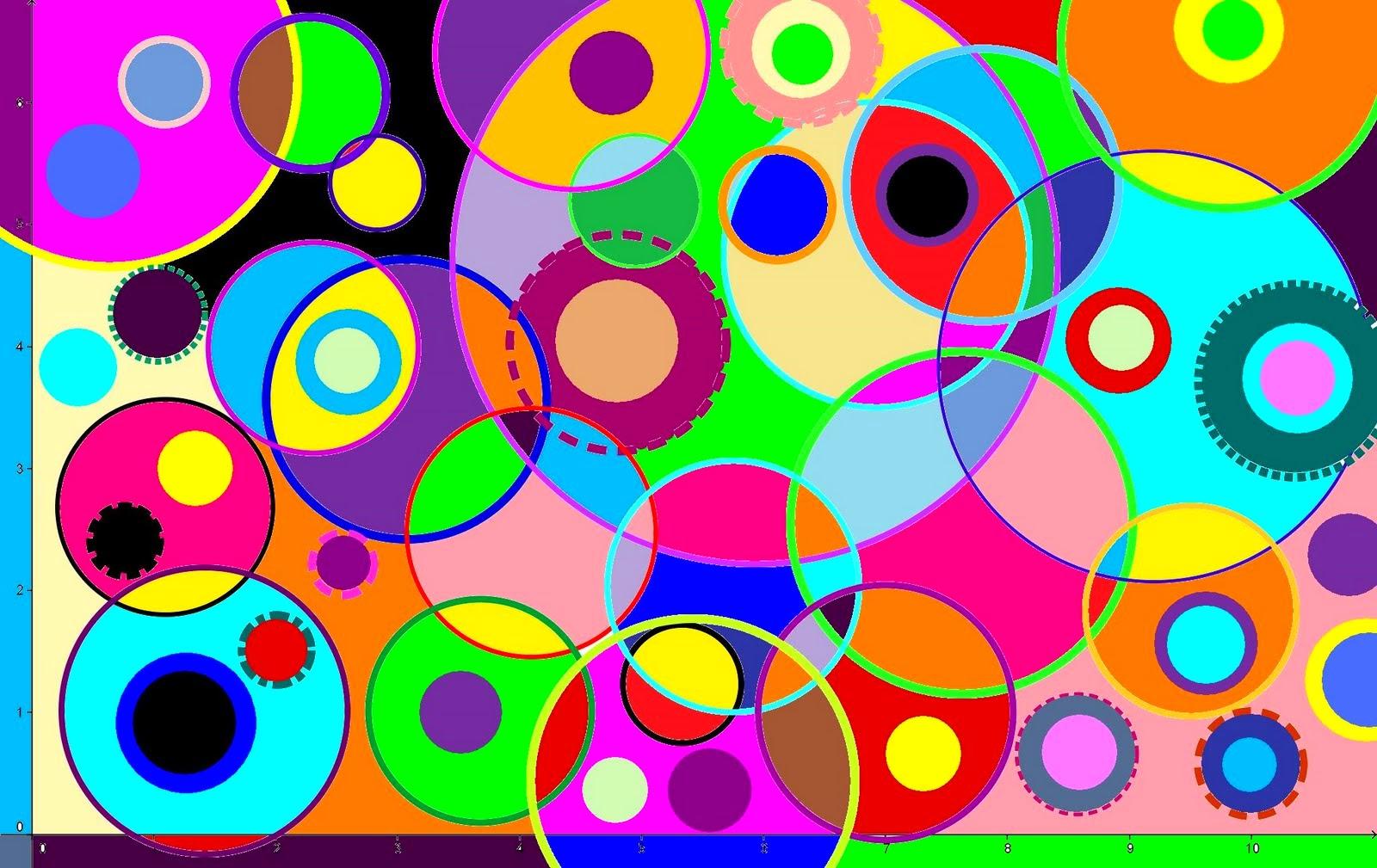 Resultado de imagen de dibujos con circunferencias