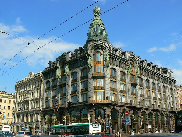 Imagini Rusia: Nevsky Prospekt Sankt Petersburg.JPG