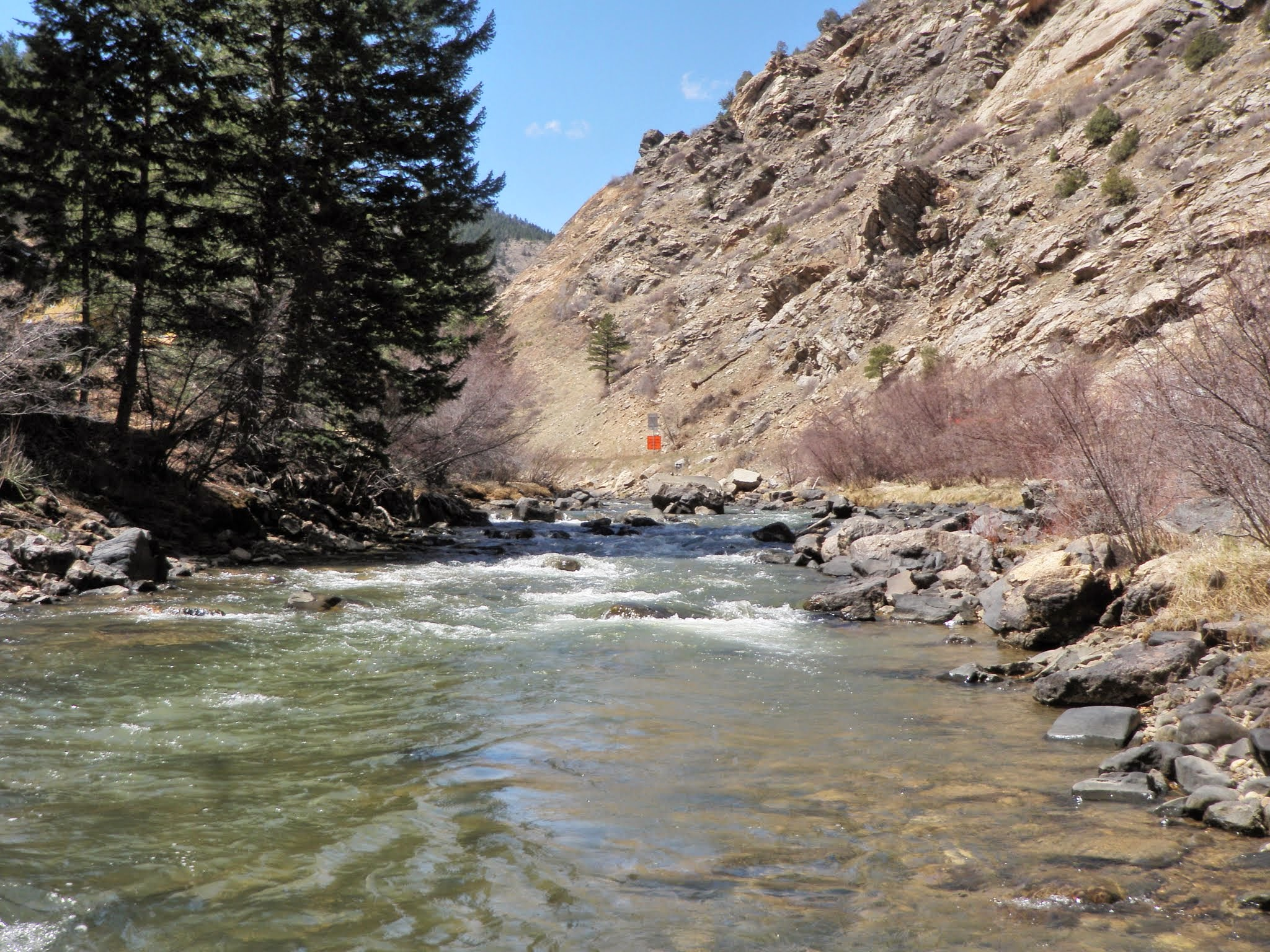 Clear creek 04 05 2015 dave weller 39 s fly fishing blog for Clear creek fishing
