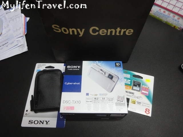 Sony Cybershot TX10 Camera 23