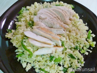 Jan 11 Cauliflower Paleo Rice 007