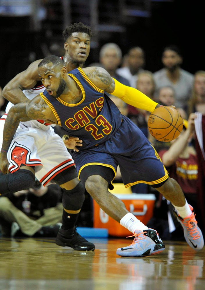 James New York: LeBron Records Triple Double And Debuts New LeBron 12's On