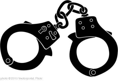 'Handcuffs Vector Image' photo (c) 2010, Vectorportal - license: http://creativecommons.org/licenses/by/2.0/