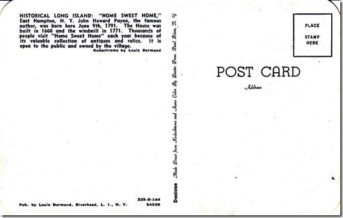 John Howard Payne Home - Historical Long Island pg. 2