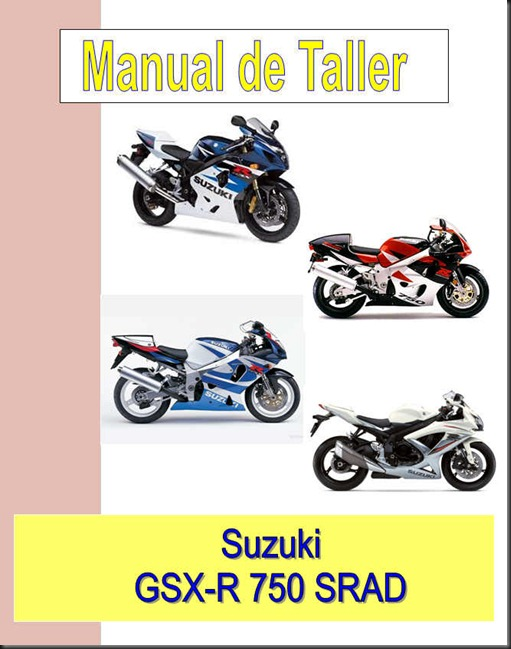 Suzuki gsxr 750 Srad Manual