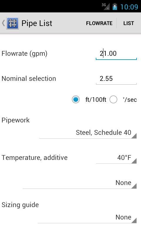 Blowpipe HVAC- screenshot