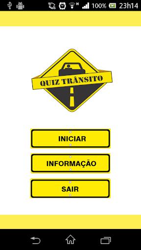Quiz Trânsito Atualizado