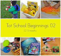 Toddler Beginnings 02: Activities for 12.5 Months Toddlers