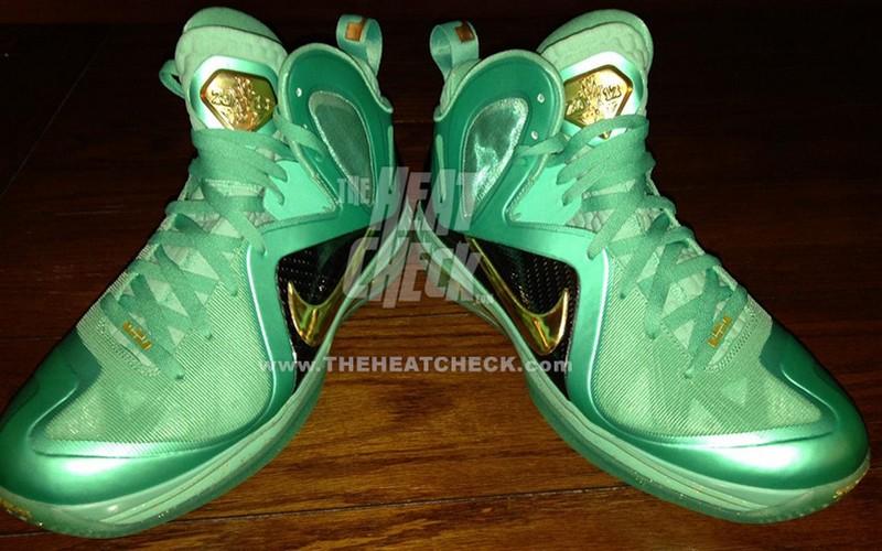 huge selection of 28e99 4ede9 Leaked Nike LeBron 9 PS Elite 8220Statue of Liberty8221 PE