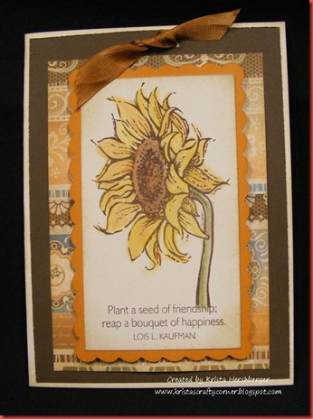 May 2012 SOTM florentine_sunflower card
