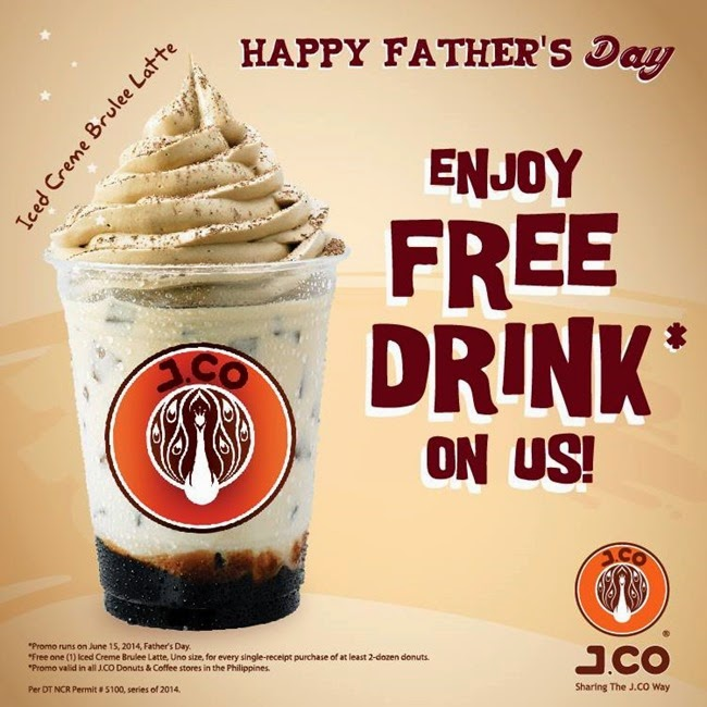 Get Free Drink At J Co On Fathers Day Ednything