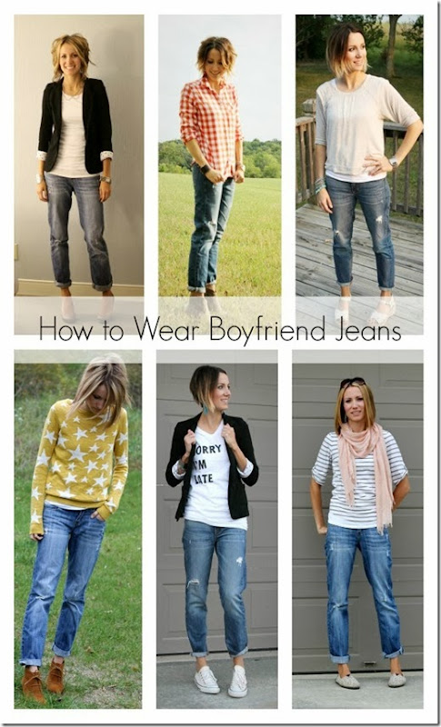 7 Simple Ways to Wear Boyfriend Jeans