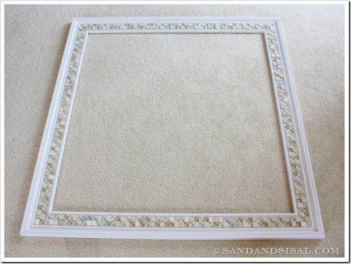 Tiled Mirror Frame