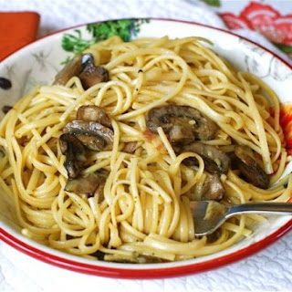 Quick Bacon & Mushroom Carbonara