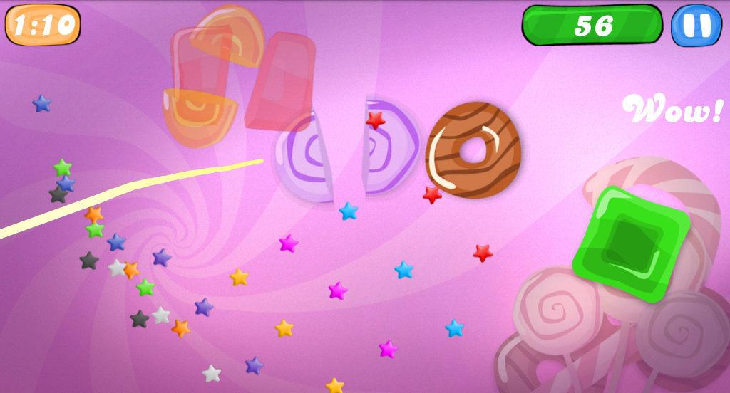 Candy Ninja - screenshot