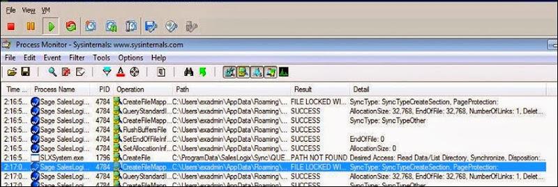 AppSense  ThinApp issue. [Resolved]