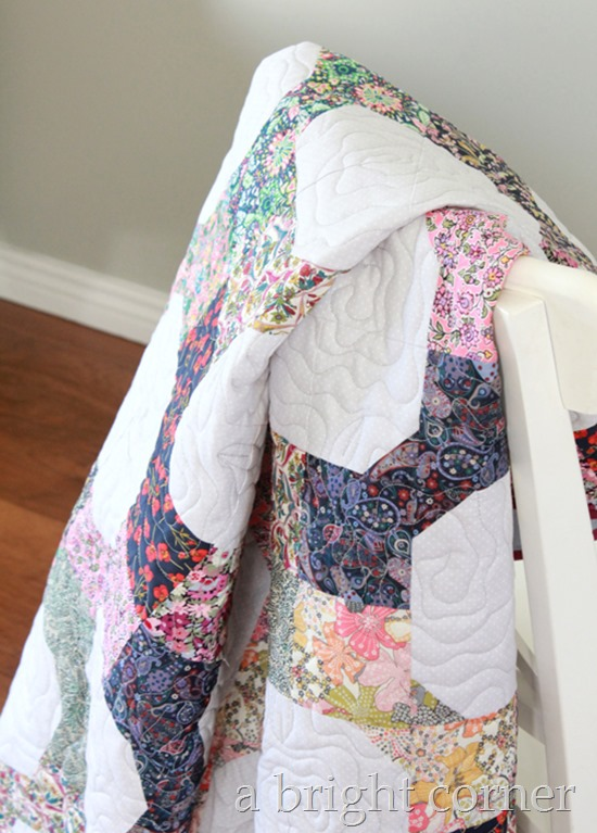 Liberty of London quilt tutorial