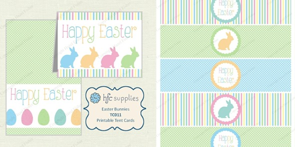 2014 March new designs Easter printable cards and bottle labels