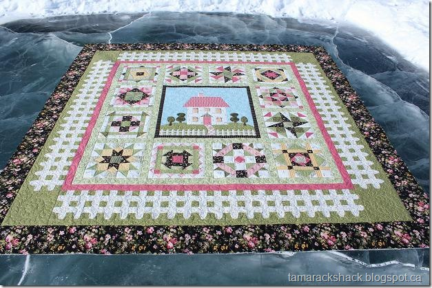 Sew Fresh Quilts: Top 10 Tips for New Quilters - Sashing & Borders : rose cottage quilt shop - Adamdwight.com
