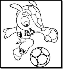 ...  fuleco mascote copa do mundo brasil 2014 desenhos imprimir colorir pintar-03  ... 9a549082549