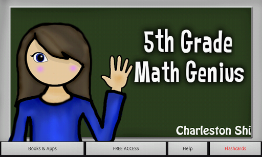 5th Grade Math Genius Tablet