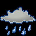 Het weer in Gouda. logo