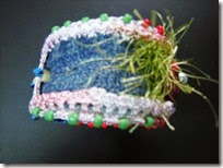 Recycle denim bracelet 12