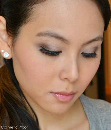 Essence How Make Nude Eyes Makeup Box Makeup Look (3)