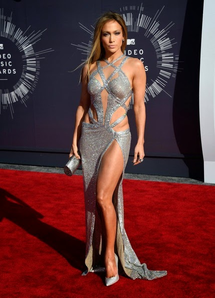 Jennifer Lopez Arrivals MTV Video Music Awards