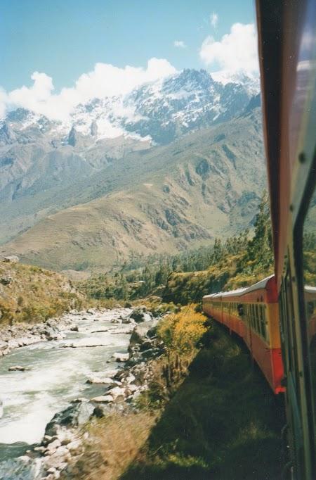 Cu trenul spre Macchu Picchu