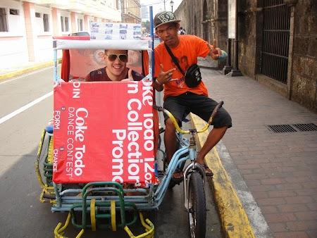 Imagini Filipine: Tricicleta