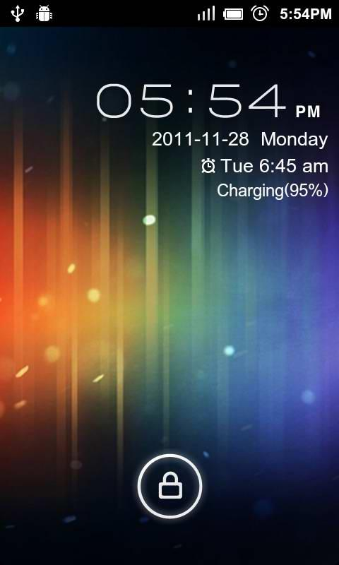 GO Locker ICS Theme - screenshot
