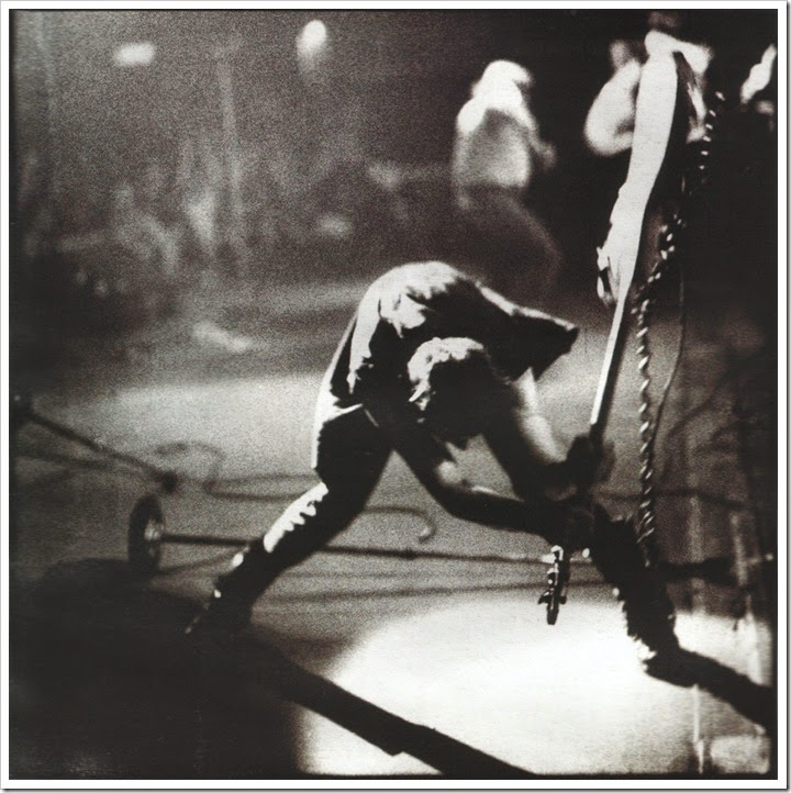 Paul Simonon bass smash