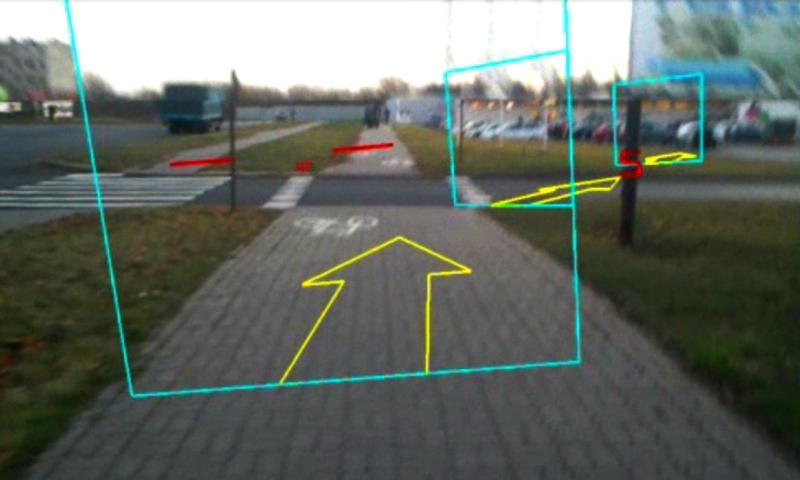 ARnav Geocaching- screenshot