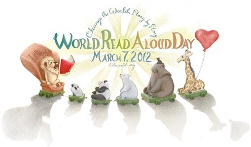 world read aloud day lindsey mawell
