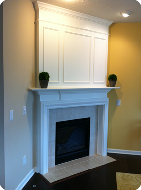Thrifty Decor Chick: A fireplace redo!