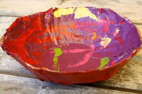 Paper Mache Bowl from Happy Hooligans