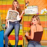 Angelica Jaramillo y Sofia Jaramillo Modelando D'Axxys Jeans Foto 23